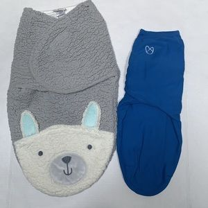 Set of 2: Sleep Sack/Swaddles Summer and Chick Pea